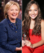Young Hillary Clinton's Official Doppelgänger Is Dance Prodigy Maddie Ziegler
