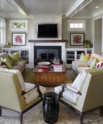 7 Ways to Arrange a Living Room with a Fireplace