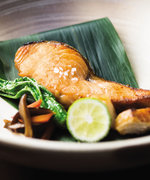 How to Make Iron Chef Morimoto's 3-Ingredient Salmon