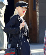 Of Course Gwen Stefani Wears Fishnet Tights to Sunday Service