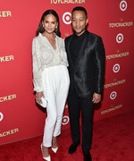 Chrissy Teigen and John Legend School Us in B&W Date Night Dressing