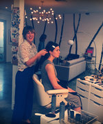 Exclusive! See Mandy Moore Get Golden Globes Ready
