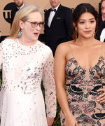Meryl Streep's Photobomb Made Gina Rodriguez Lose It