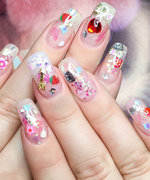 This Manicure Trend Is For the Jelly Shoe-Obsessed '90s Child in All of Us