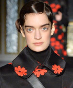 A Fall Florals Trend Blooms on London Fashion Week's Runways