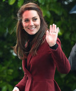Kate Middleton's Short Burgundy Suit Is So Worth Multiple Re-Wears