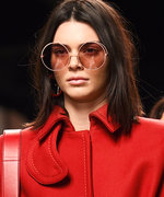 Kendall Jenner Goes Mod for Milan Fashion Week