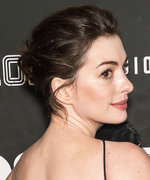 Anne Hathaway Wears the Most Colossal Dress to Her Movie Premiere