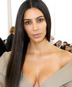 Kim K. Is the Sexiest '80s Beach Babe in Latest Bikini Shot