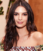 Emily Ratajkowski Turns Up Coachella's Desert Heat in a Tiny Crop Top