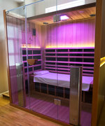 This Is Why Everyone Is Breaking a Sweat at Infrared Saunas