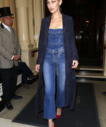 Bella Hadid Is The Queen of Double Denim