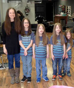 This Mom and Her Six Sons Donate 17 Feet of Their Hair to Charity