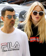 Sophie Turner and Joe Jonas Can't Hide Their Love (of Logo Tees)