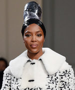 Naomi Campbell Opened and Closed Azzedine Alaïa's First Couture Show in Six Years