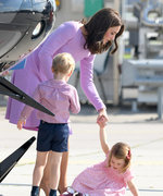 Princess Charlotte Has A Mini Diva Fit On Royal Tour