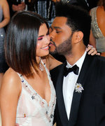 Selena Gomez and The Weeknd Coordinate in Monochromatic Looks for a Belated Birthday Brunch