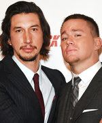 Channing Tatum and Adam Driver Perfect the Awkward Prom Pose