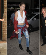 Yep, Cardigans Are Now Cool. But Will You Wear Yours Like Gigi Or Sienna?