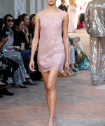 The Pink Trend is Alive and Well at Milan Fashion Week