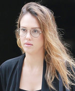 Jessica Alba Puts Her Baby Bump on Display in a Curve-Hugging LBD