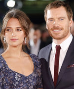 Alicia Vikander and Michael Fassbender Mingle with Locals During Italian Honeymoon
