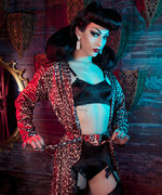 RuPaul's Drag Race Winner Violet Chachki Models for the New Playful Promises Lingerie Campaign