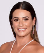 See How Lea Michele Got Ready for the AMAs Red Carpet