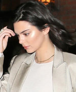 Kendall Jenner Steps Out in All-White a Day After the Victoria's Secret Fashion Show
