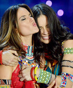 Alessandra Ambrosio Bids Farewell to Adriana Lima Like Only a Victoria's Secret Model Can