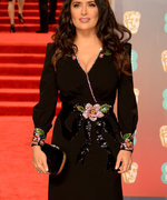 Salma Hayek Explains The Importance Of Wearing Black To The BAFTAs