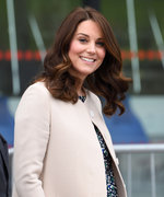 Kate Middleton Introduced the Royal Baby with Her Best Blowout Ever