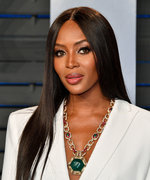 Naomi Campbell Ditched Her Signature Straight Hair for a New Look