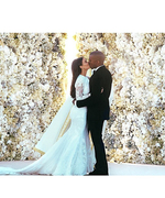 Celebrate Kim Kardashian and Kanye West's First Wedding Anniversary with Their Best Couple Moments