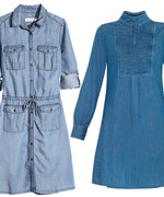 The Best Denim Dresses for Spring