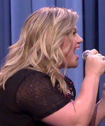 Kelly Clarkson Jimmy Fallon History of Duets