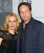 David Duchovy and Gillian Anderon X-Files Reunion