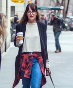 Dakota Johnson street style