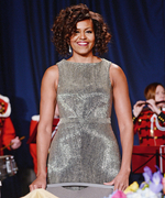 Michelle Obama in Zac Posen