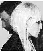 Ricardo Tisci and Donatella Versace