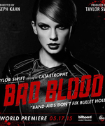 """See What Went Down During the Making ofTaylor Swift's """"Bad Blood"""" Music Video"""