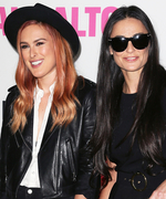 Rumer Willis Is the Spitting Image of Mom Demi Moore in This Adorable #TBT Photo