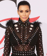 Kim Kardashian's Feathered CFDA Dress Almost Went Up in Flames