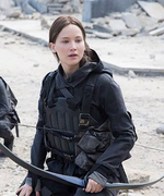 Jennifer Lawrence Shares First Photo from <em>The Hunger Games: Mockingjay - Part 2</em>