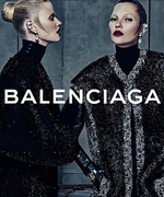 Kate Moss and Lara Stone Team Up for Balenciaga's Seductive Fall Campaign