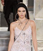 Kendall Jenner Walks In Givenchy's First Couture Show In Three Years