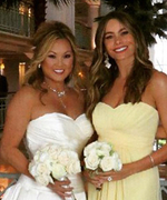 Sofia Vergara Is Nothing but a Knockout as a Bridesmaid