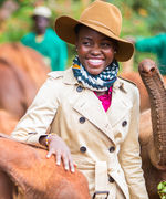 Lupita Nyong'o Returns to Her Native Kenya to Help Save the Elephants