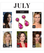 Birthstone Gift Ideas: Ruby Pieces for July