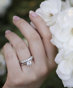 Real-Girl Ways to Style Your Wedding Band